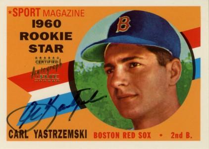 カール・ヤストムレスキー Carl Yastrzemski 1998 Topps Stars Rookie Reprints Autographs