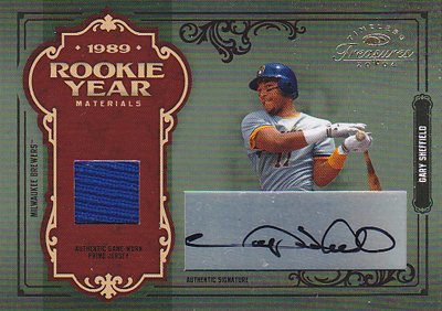 MLBカード【ゲーリー シェフィールド】2004 Timeless Treasures Rookie Year Materials Combos Signature 11枚限定!(09/11)(Gary Sheffield)
