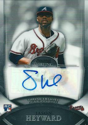 ジェイソン・ヘイワード MLBカード Jason Heyward 2010 Bowman Sterling Rookie Autographs