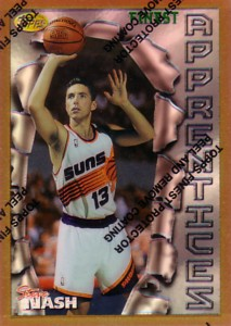 Steve Nash 1996/97 Finest Rookie Refractors