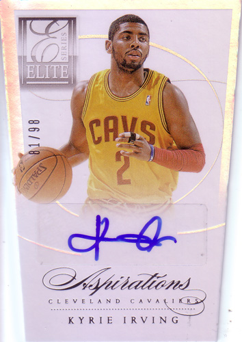 カイリー・アービング NBAカード Kyrie Irving 2012/13 Panini Elite Series Aspirations Autographs 81/99