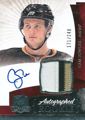 キャム・ファウラー NHLカード Cam Fowler 10/11 The Cup Rookie Patch Autographs 171/249