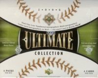 MLB 2006 UD ULTIMATE COLLECTION パック(Pack)