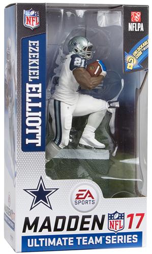 エゼキエル・エリオット マクファーレン EA Sports Madden NFL 17 Ultimate Team Series 2 CHASE (カウボーイズ/ホワイト/Color Rush) / Ezekiel Elliott