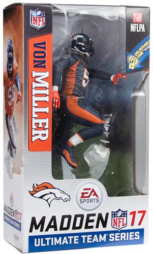 ボン・ミラー マクファーレン EA Sports Madden NFL 17 Ultimate Team Series 2 CHASE (ブロンコス/ブルー) / Von Miller