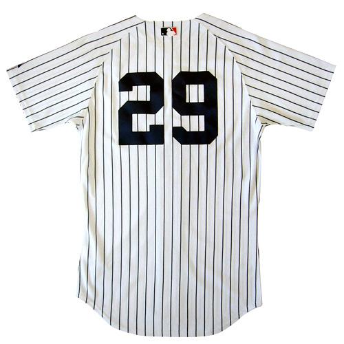 セール★井川慶 Majestic オーセンティックジャージ ニューヨーク・ヤンキース #29/ホーム