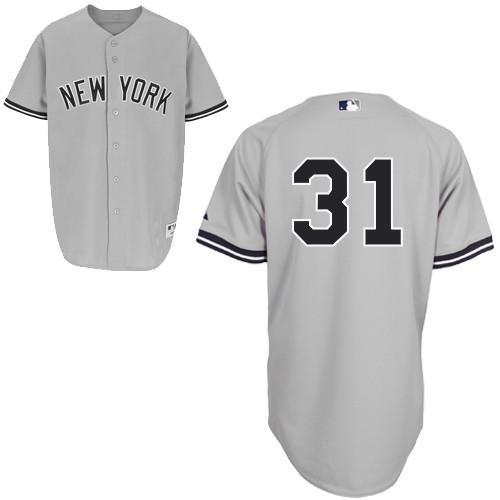 【送料無料】 イチロー オーセンティック ユニフォーム (ヤンキース/ロード/#31) / Ichiro Authentic Player Jersey