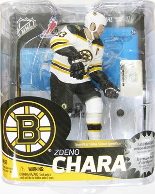 ズデノ・チャラ マクファーレン NHL シリーズ31 (ブルーインズ/ホワイト) コレクターズレベル 1000体限定!/ Zdeno Chara