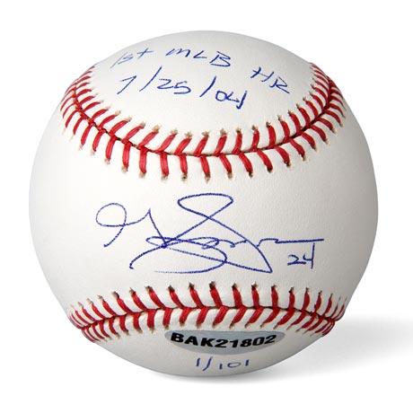 グレイディ・サイズモア / Grady Sizemore 直筆サイン入りボール