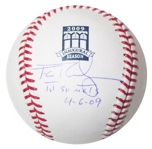 フランシスコ・ロドリゲス / Francisco Rodriguez 直筆サインボール 09 Citi Field 移転記念ロゴ入り公式球