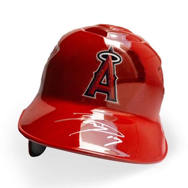 大谷翔平 直筆サイン入り エンゼルス ヘルメット スカーレット / Shohei Ohtani Autographed Angels Helmet (Scarlet)