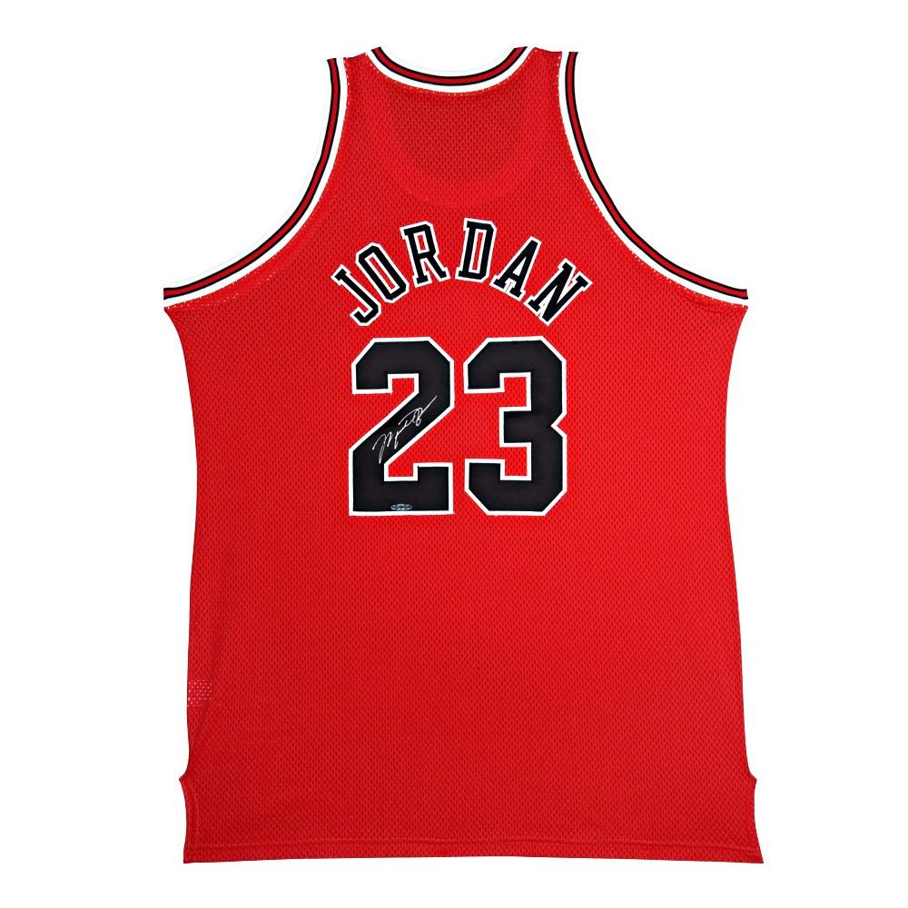 sports shoes 703d1 756fd The entering Michael Jordan handwriting signature from '97 to '98 away  jersey (Chicago Bulls / away) / Michael Jordan 1/15 arrival!