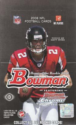 NFL 2008 Bowman Hobby ボックス