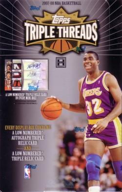 NBA 07/08 TOPPS TRIPLE THREADS
