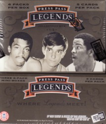 NBA 07/08 PRESS PASS LEGENDS