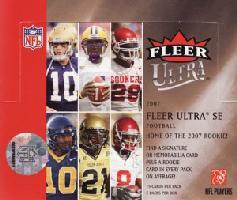 NFL 2007 Fleer Ultra SE ボックス