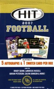 2007 Sage Hit Football ボックス