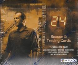 24 シーズン5 トレーディングカード ボックス(Box)