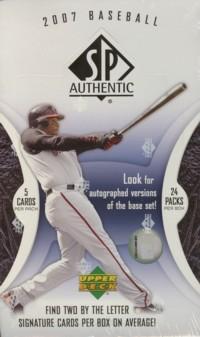 MLB 2007 SP AUTHENTIC Box
