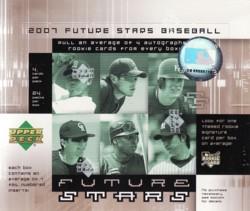 MLB 2007 UD FUTURE STARS Box