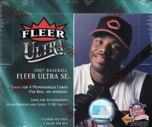 MLB 2007 FLEER ULTRA SE ボックス(BOX)