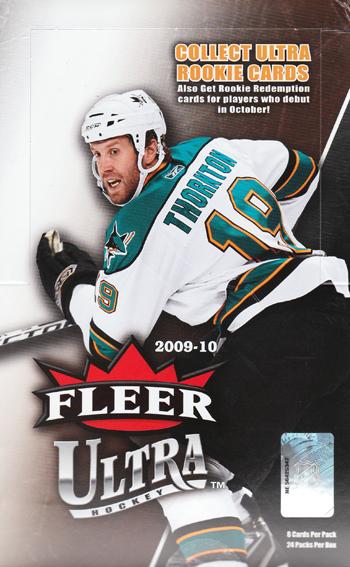 NHL 09/10 Fleer Ultra ボックス
