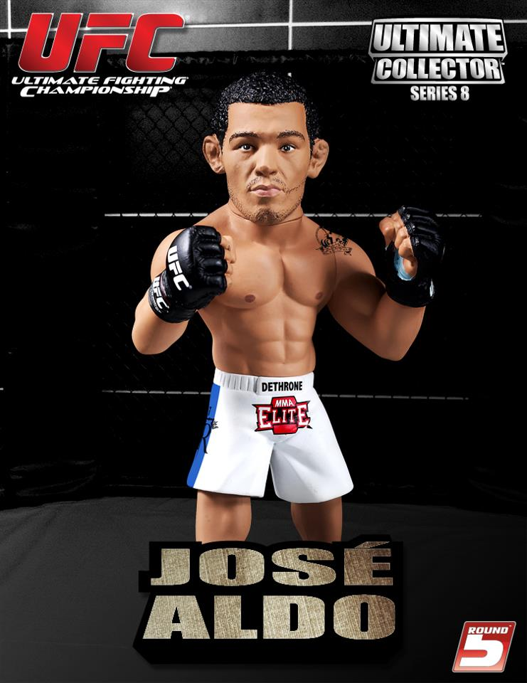 【ジョゼ・アルド】Round 5 UFC Ultimate Collector Series 8 Action Figure / Jose Aldo 2/9入荷!