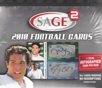 (セール)2010 Sage Series 2 Football ボックス ★6/4入荷!