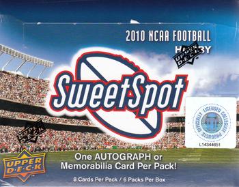 【アメフトカード】 2010 UD NCAA Sweet Spot Football ボックス ★9/21入荷!