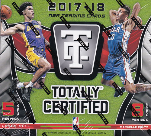 NBA 2017-18 Panini Totally Certified Basketball