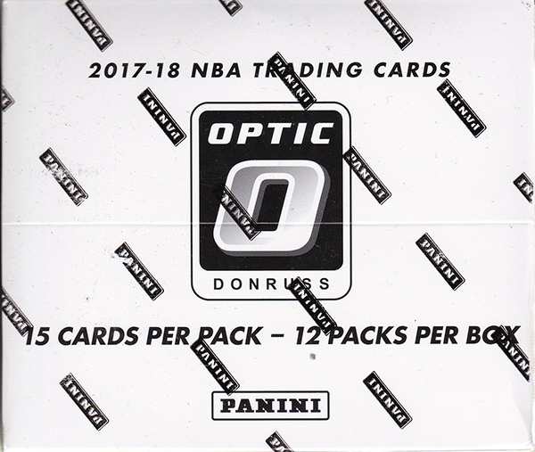 NBA 2017-18 Panini Donruss Optic Basketball Super Value Rack Box