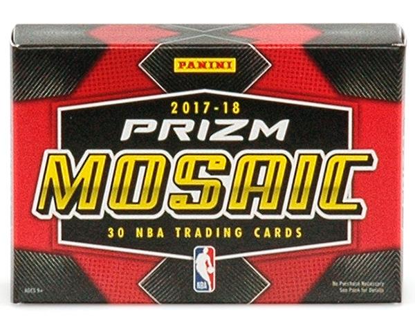 NBA 2017-18 Panini Mosaic Prizm Basketball