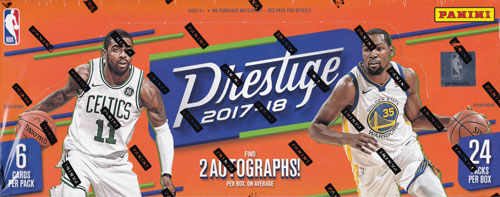 NBA 2017-18 Panini Prestige Basketball