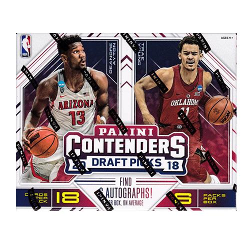 2018-19 Panini Contenders Draft Picks Basketball 謝恩価格