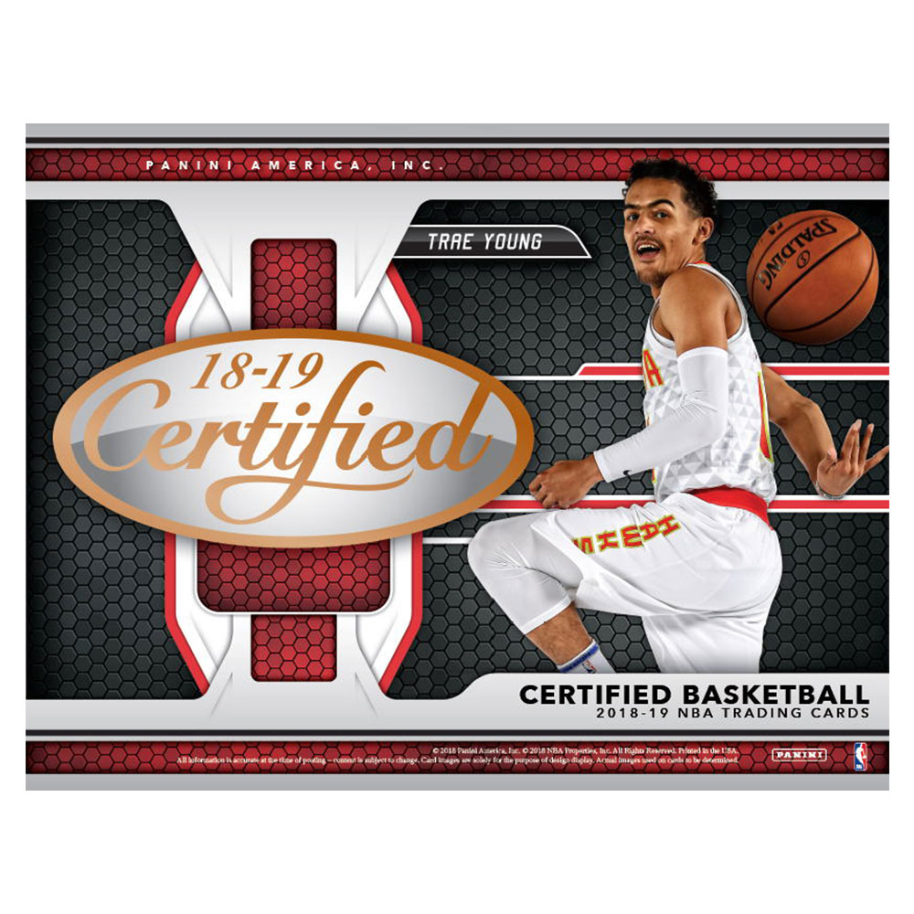 NBA 2018-19 Panini Certified Basketball 謝恩価格