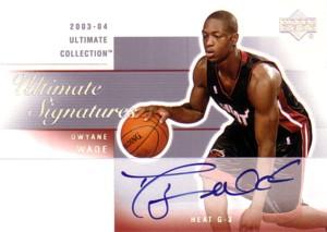 【ドウェイン ウェイド】NBA 2003/04 Ultimate Collection Ultimate Signatures / Dwyane Wade