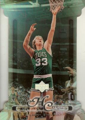 【ラリー バード】NBA 1999/00 Upper Deck History Class Level1 100枚限定!(062/100) / Larry Bird