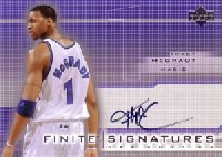 【トレイシー マグレディ】NBA 2003/04 UD Finite Signatures 100枚限定! / Tracy McGrady