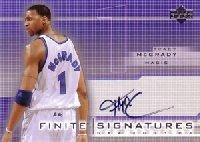 【トレイシー マグレディ】NBA 2003/04 UD Finite Signatures 100枚限定! / Tracy McGrady