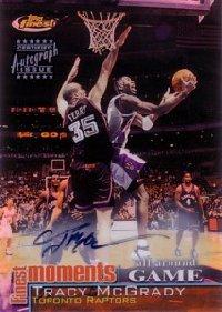 【トレイシー マグレディ】NBA 2000/01 Finest Moments Refractors Autographs / Tracy McGrady