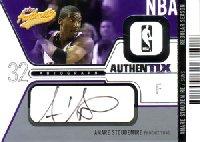【アマレ スタウダマイアー】NBA 2003/04 Fleer Authentix Autographs 225枚限定! / Amare Stoudemire