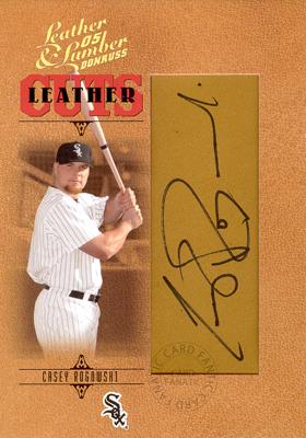 ケーシー ロゴウスキー MLB 2005 百貨店 Donruss Leather Lumber 229 Signatures 出色 256 Cuts 256枚限定 Rogowski Casey