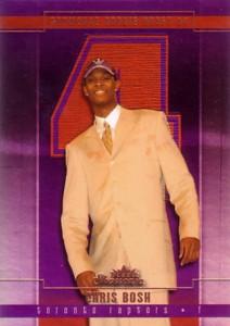 クリス ボッシュ 2003 04 Fleer 全国どこでも送料無料 格安店 Showcase Card Rookie 1000枚限定 Chris Bosh