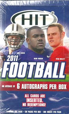 2011 Sage Hit Low Series Football ボックス (Box) ★3/22入荷!