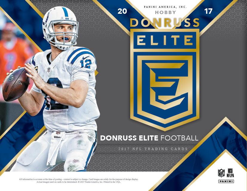 NFL 2017 Panini Donruss Elite Football ボックス (Box) 6/28入荷!
