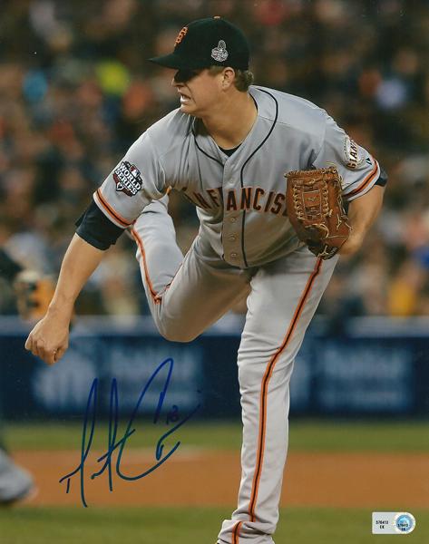 マット・ケイン MLB オーセンティック 2012 ワールドシリーズ 直筆サイン入り 8×10フォト / Matt Cain 2012 World Series Photo