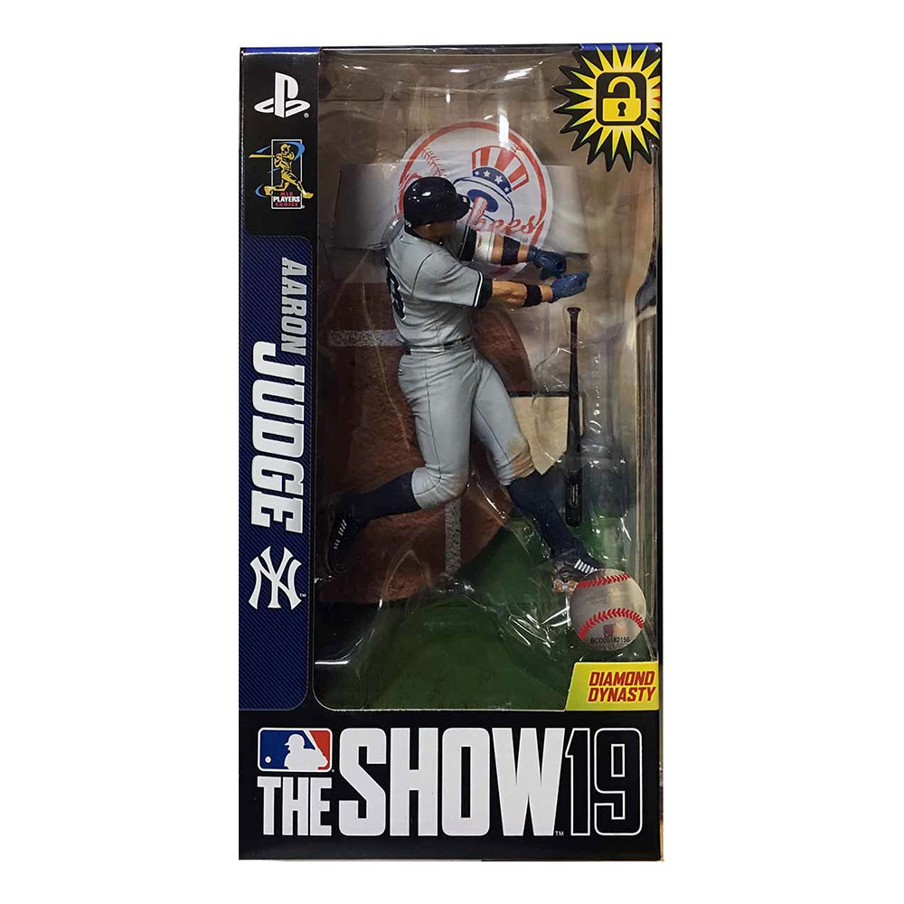 アーロン・ジャッジ MLB The Show 19 Series 1 Limited Edition (ヤンキース/グレー) / Aaron Judge 3/25入荷!