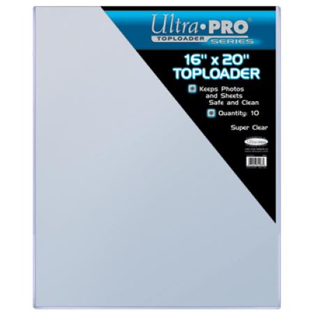 ウルトラプロ(UltraPro) トップローダー 16x20 (10枚入り) (#81187) 16x20 Toploader