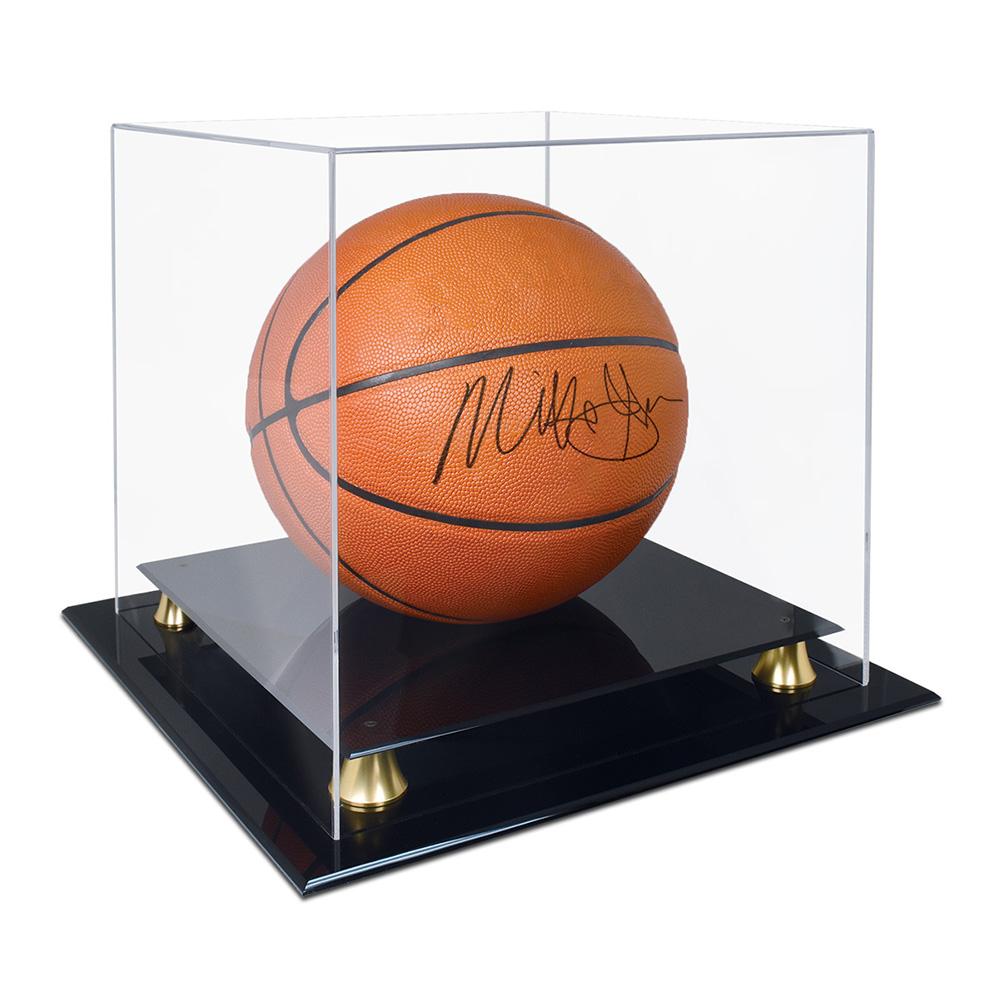 ラッピング無料 ウルトラプロ 送料無料でお届けします Ultra Pro バスケットボールケース ライザー Basketball Riser #84951 Display