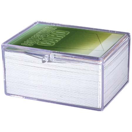Ultra Pro ウルトラプロ ヒンジ付きカードケース 100枚用 Storage ●日本正規品● Hinged #43005 100 Card 日本正規品
